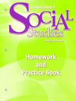 Harcourt Social Studies People We Know Homework and Practice Book, Grade 2