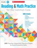 Reading & Math Practice for Grade 3