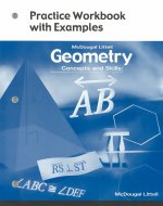 Geometry, Grade 10 Practice Workbook With Exampes