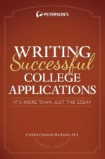 Peterson's Writing Successful College Applications