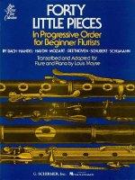 40 Little Pieces in Progressive Order