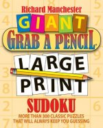 Giant Grab a Pencil Large Print Sudoku