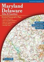 Maryland and Delaware Atlas & Gazetteer