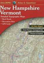 Delorme Atlas & Gazetteer New Hampshire / Vermont