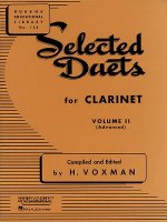 Selected Duets Clarinet
