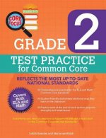 Barron's Core Focus Grade 2 Test Practice for Common Core