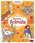 Fabulous Animals Coloring Book