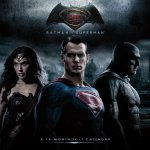 Batman V Superman - Dawn of Justice 2017 Calendar