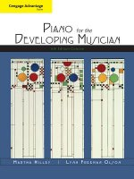 Piano for the Developing Musician
