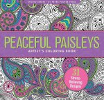 Peaceful Paisleys Artist's Coloring Book