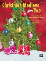 Christmas Medleys for Two Book 2