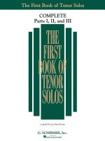 The First Book of Solos Complete - Parts I, II, and III