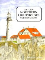 Historic Northern Lighthouses Coloring Book