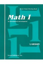 Saxon Math Homeschool 1