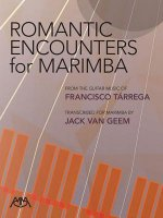Romantic Encounters for Marimba