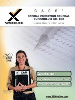 GACE Special Education General Curriculum 081, 082
