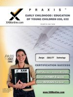 Praxis Early Childhood/Education of Young Children 020, 022