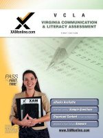 VCLA Virginia Communication and Literacy Assessment