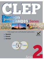 Clep Foreign Language Sampler