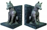 Game of Thrones Direwolf Bookends