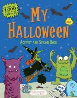 My Halloween Activity and Sticker Book