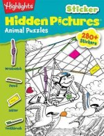 Highlights Sticker Hidden Pictures Animal Puzzles