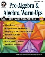 Pre-Algebra and Algebra Warm-ups, Grades 5-8