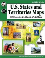 U.S. States and Territories Maps, Grades 5-8+