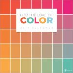 For the Love of Color 2017 Calendar