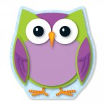 Colorful Owl Notepad