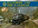 Baltimore & Ohio Railroad 2017 Calendar