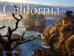 California, at the Edge of the Sea 2017 Calendar
