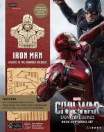 Incredibuilds Marvel's Captain America Civil War Iron Man Deluxe Book and Model Set