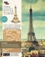 Paris - Eiffel Tower Book and Model Set