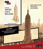 Incredibuilds New York Empire State Building 3d Wood Model