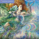 Celestial Journeys by Josephine Wall Glitter Cover 2017 Calendar