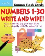 Numbers 1-30 Write & Wipe