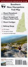 Appalachian Mountain Club Southern New Hampshire Trail Map