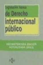 Legislación básica de derecho internacional público / Basic legislation of public international law