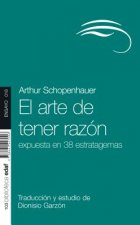 El arte de tener razón/ The Art of Allways Being Right