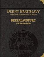 Dejiny Bratislavy 1 - kožená väzba