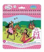 Stamp & Color Prinzessin