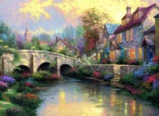 Bei der alten Brücke. Puzzle 1000 Teile