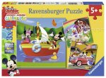 Mickey & Minnie: Everyone Loves Mickey (3 X 49 PC Puzzles)