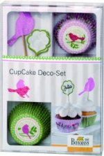 CupCake Deco-Set, Vogel