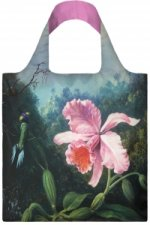 MARTIN JOHNSON HEADE Still Life with Orchid and Pair of Hummingbirds Bag