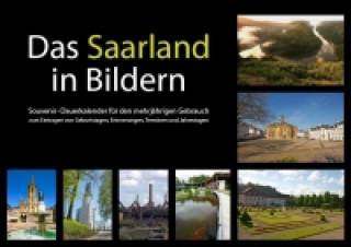 Saarland in Bildern Souvenir-Dauerkalender