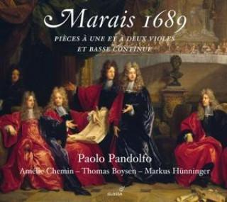 Marais 1689-Pisces deux Violes