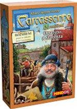 Carcassonne Opactwo i Burmistrz