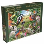 Falcon - Birds for all Seasons - 1000 Teile Puzzle